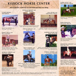 Kissock Horse Center ad